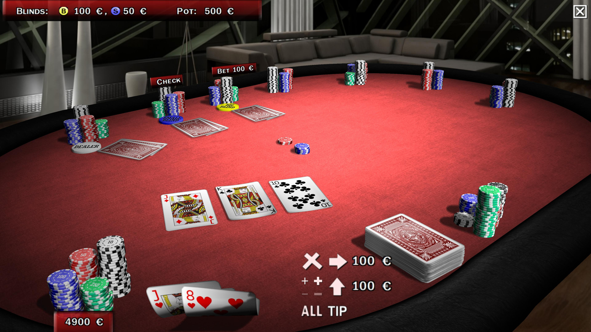 Trendpoker 3D Community Edition Screenshot